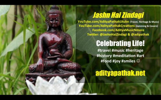 Aditya Video Banner - buddha