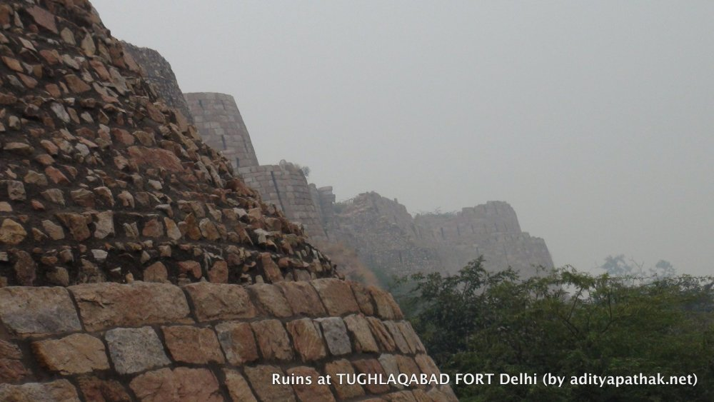 Tughlaqabad Fort (1/4)