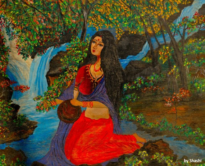 10-Waterfall Woman 1988