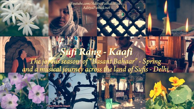 Sufi Rang collage text