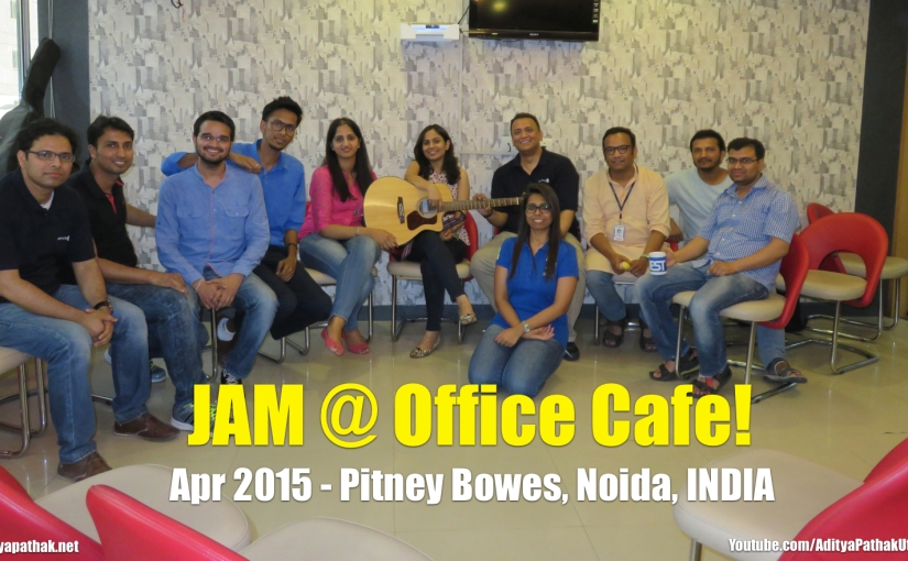 JAM @ Office Cafe (Video)