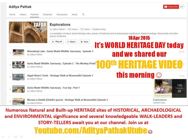 World Heritage Day - 100 videos