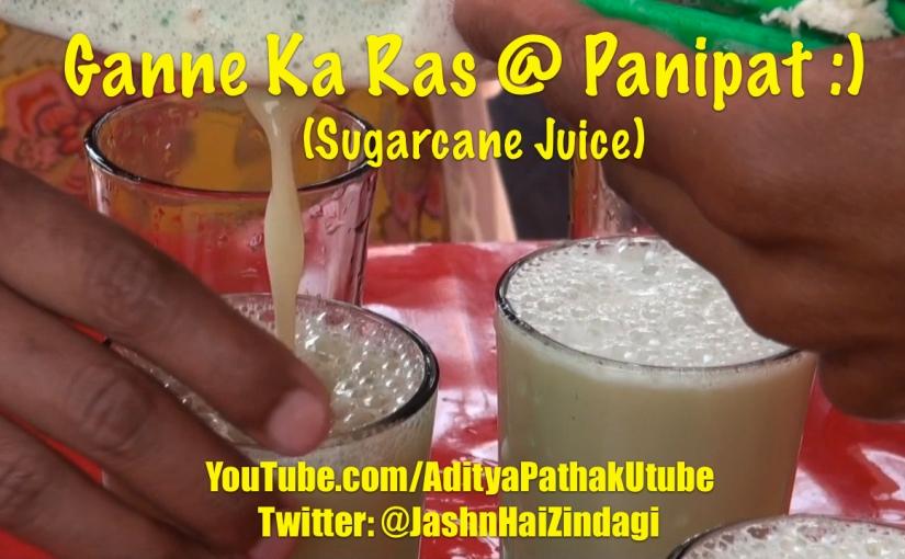 "Refreshing ""Ganne ka Ras"":)"