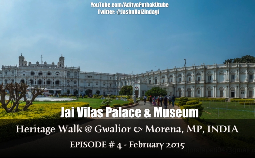 Jai Vilas Palace and Museum, Gwalior (Video)