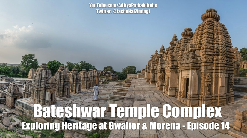 Bateshwar group of Temples, Morena (Video)