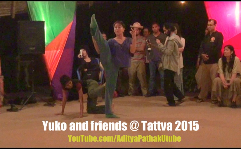 Dance Improvisation by Yuko and friends at Tattva Festival @ Zorba The Buddha