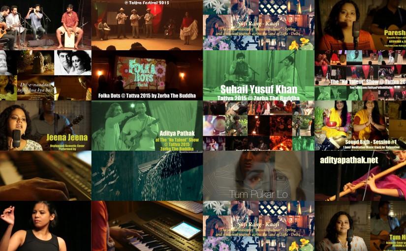 2015 Vlog Recap: Music, Dance and more:)