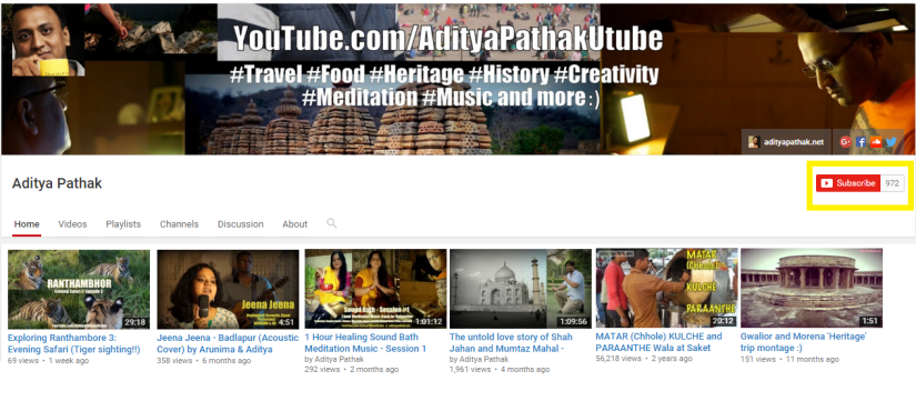 Join us on YouTube:)