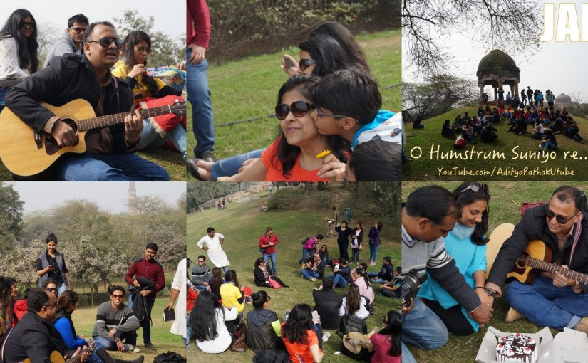 Jamming with Delhi Karavan – Mehrauli Archaeological Park