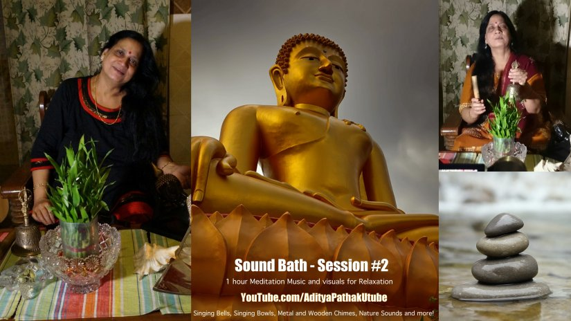 Sound Bath Session #2 : One Hour Healing Meditation Music (Sounds forRelaxation)