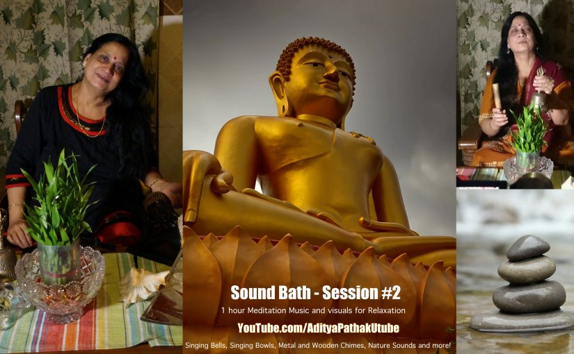 Sound Bath Session #2 : One Hour Healing Meditation Music (Sounds for Relaxation)