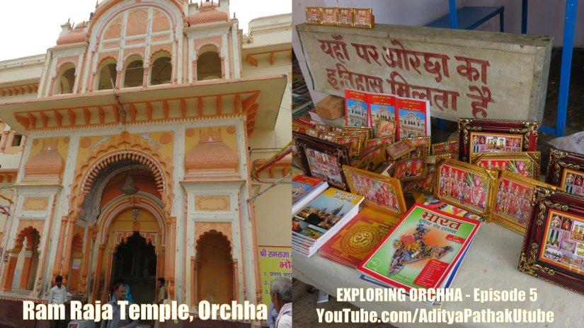 The historical Ram Raja Temple ofOrchha!