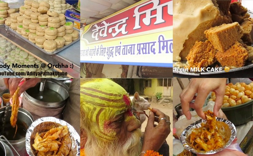 Foody moments from Orchha:)