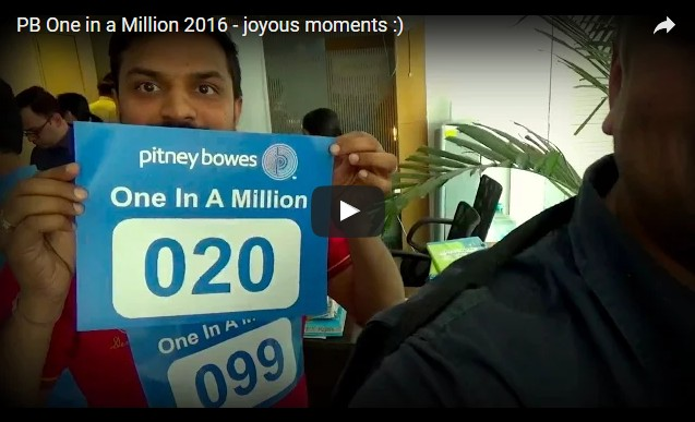 PB One in a Million 2016 – joyous moments :)