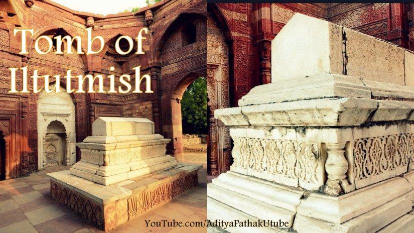The tomb of Iltutmish @ QutubComplex