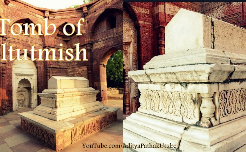 The tomb of Iltutmish @ Qutub Complex