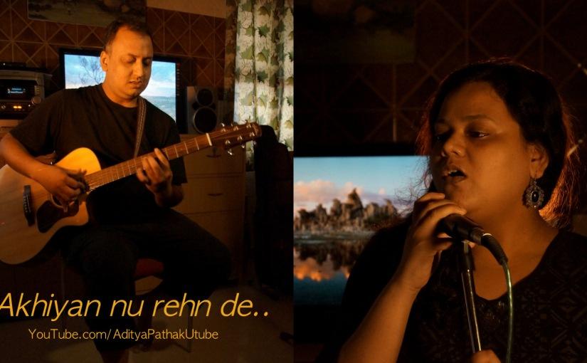 Akhiyan nu rehn de –Cover