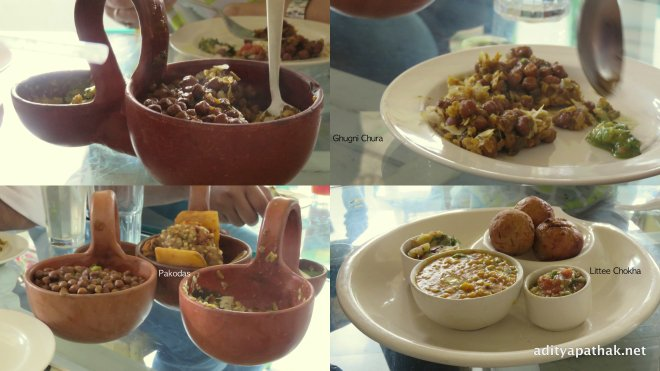 bihari food collage