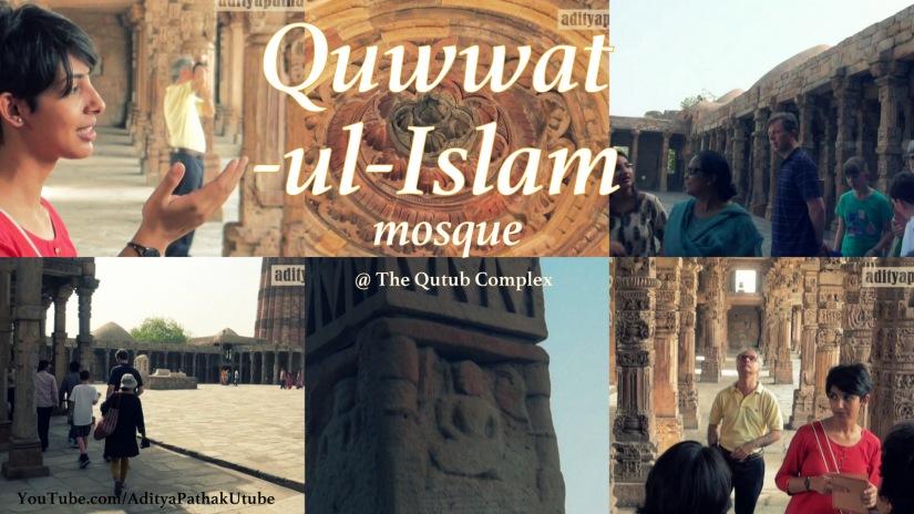 Quwwat-ul-Islam mosque @ QutubComplex!