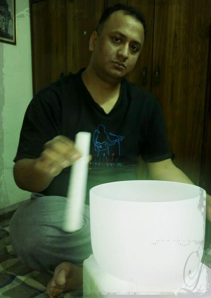 Crystal Singing Bowl:)