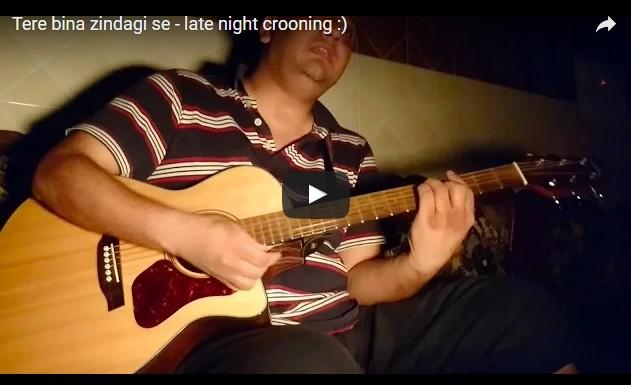 Tere bina zindagi se(acoustic/live)