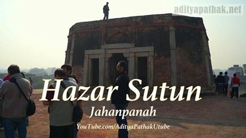 Hazar Sutun – the hall of thousand pillars!