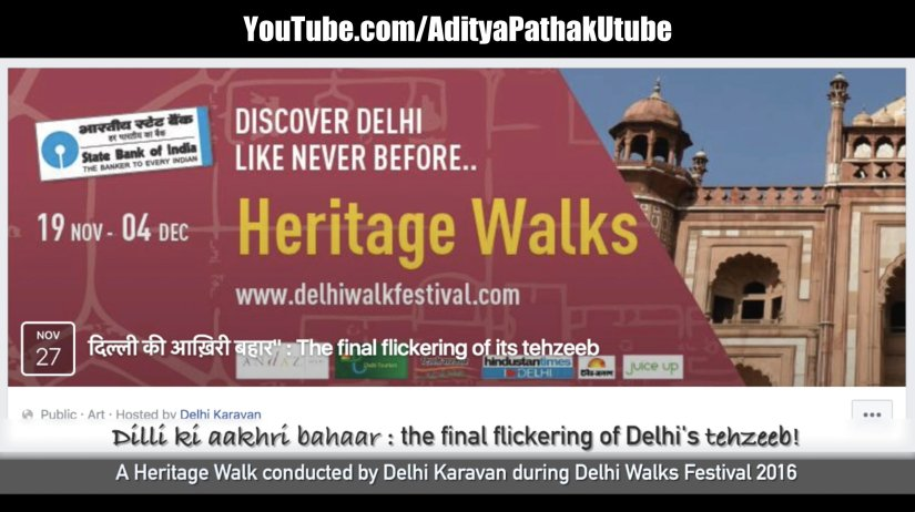 Dilli ki aakhri bahar – Dilliwaalahs and anecdotes from the bygone era :)