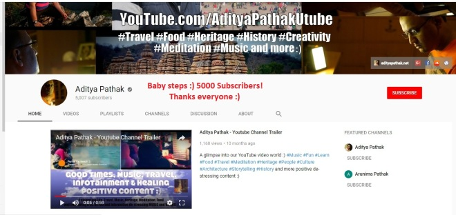 5000 Subs on Youtube :)