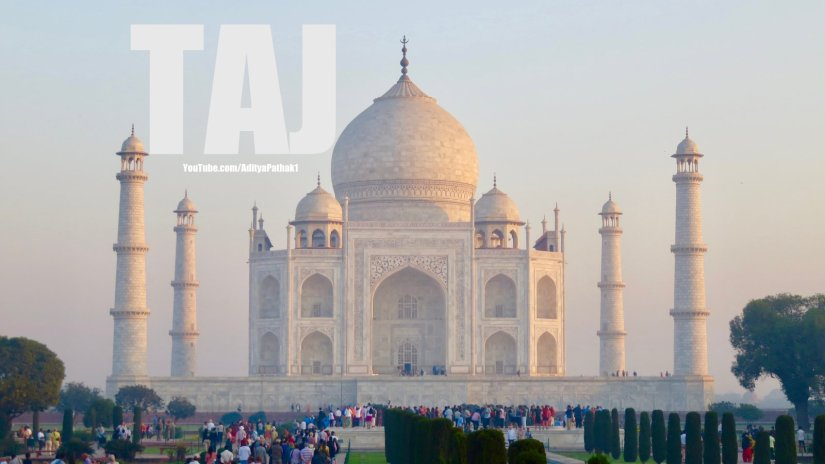 Taj Mahal: video tour 😊