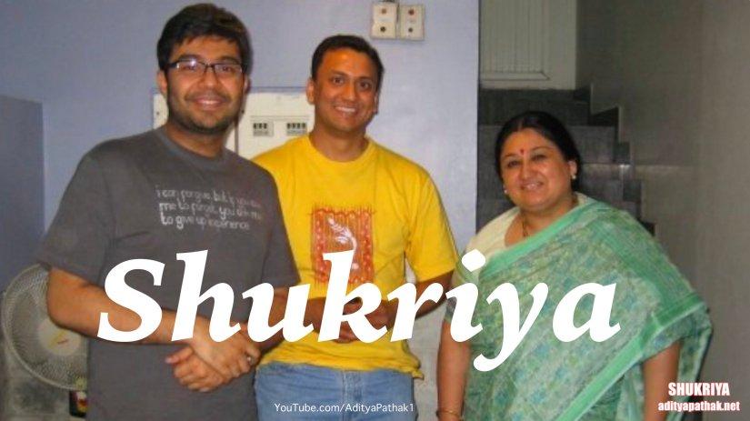 शुक्रिया | SHUKRIYA – by Aditya:)