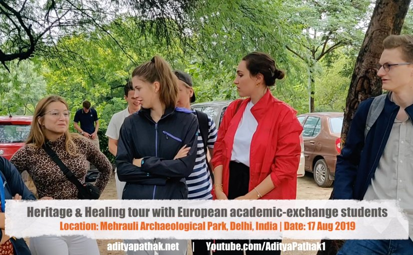 Special tour for exchange program students :)