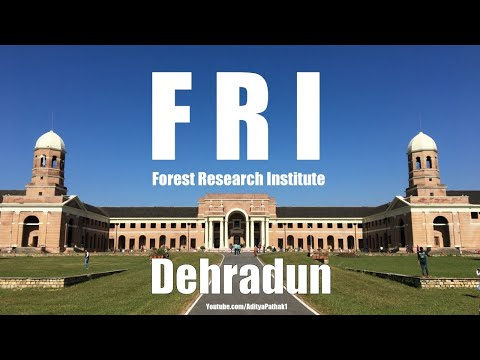 Forest Research Institute – FRI | Dehradun Heritage Tour