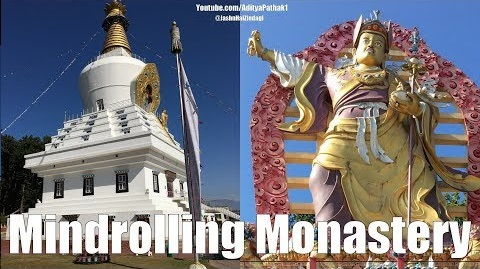 Mindrolling Monastery | Buddha Temple Dehradun | The return of Buddhism to the valley