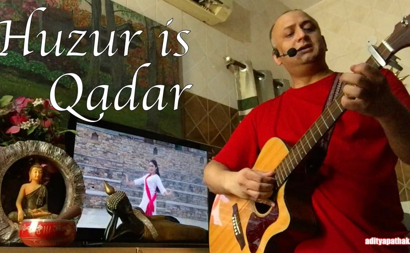 Huzur Is Qadar – Cover by Aditya