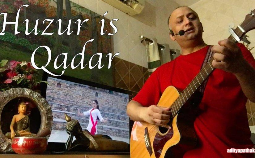 Huzur Is Qadar – Cover byAditya
